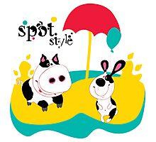 SpotStyle 4 Photographic Print