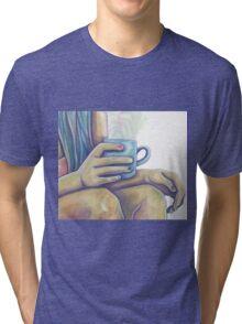 Morning Meditation Tri-blend T-Shirt