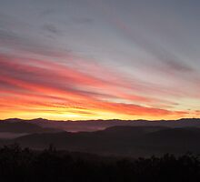 November Sunrise in the Smokies by KellieSharpe