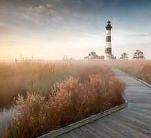 Radiant - Bodie Island Lighthouse OBX North Carolina by MarkVanDyke