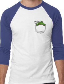 Pocket Ninja Men's Baseball ¾ T-Shirt