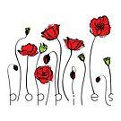 Poppies by Tatiana Ivchenkova
