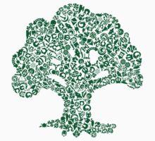 Forest Mosaic by Setsumaru