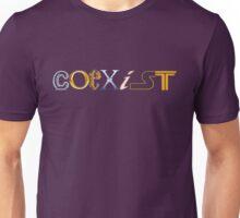 Coexist-Fandom Title Unisex T-Shirt