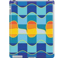 Checkered summer sea iPad Case/Skin