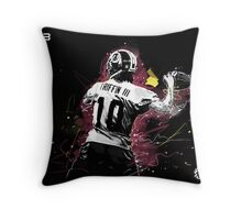 RG III  Throw Pillow