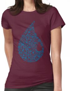 Island Mosaic Womens Fitted T-Shirt