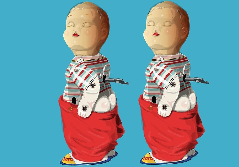Cheeky Twins by WoolleyWorld