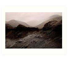Lake District Variations .. 7 Art Print