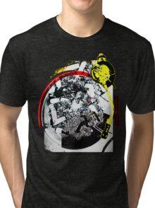 Turntable Ashtray Tri-blend T-Shirt