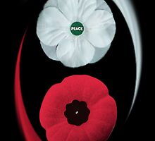 POPPIES ~ PEACE & REMEMBRANCE GO TOGETHER UNITED WE STAND PICTURE/CARD by ✿✿ Bonita ✿✿ ђєℓℓσ