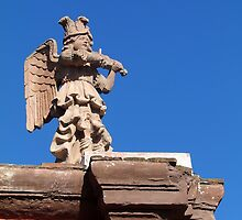 Angels in the Architecture...San Miguel de Allende, Mexico by William Mertz