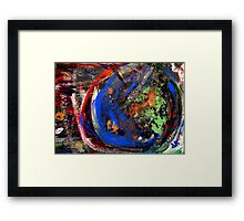 abstract world Framed Print
