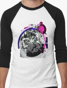 Turntable Ashtray (Miami Remix) Men's Baseball ¾ T-Shirt