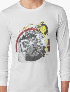 Turntable Ashtray (Semi-Transparent) Long Sleeve T-Shirt