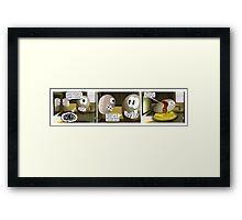 Peanuts Spew Framed Print