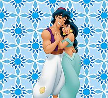 Jasmine and Aladdin by emilyg23