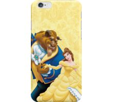 Beauty and a beast iPhone Case/Skin