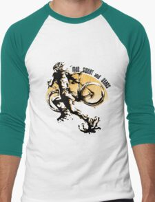 Mud Sweat & Gears Cyclocross  Men's Baseball ¾ T-Shirt