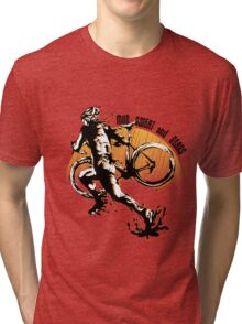 Mud Sweat & Gears Cyclocross  Tri-blend T-Shirt