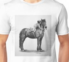 """You Make My World Complete"" Friesian portrait Unisex T-Shirt"