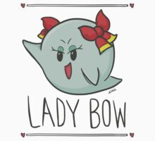 Lady Bow - Paper Mario by kevinhilt