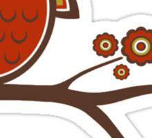 Twoooo Owl Sticker