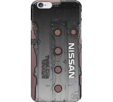 NISSAN SR20 Valve Cover iPhone Case/Skin