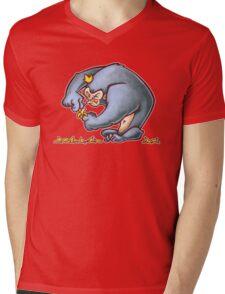King Banana Mens V-Neck T-Shirt
