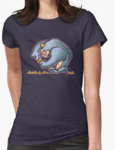 King Banana Womens Fitted T-Shirt