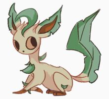 Eeveelution - Leafeon Sticker.  by Shermstan
