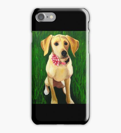 """111. """"Reese the Dog.""""  iPhone Case/Skin"""