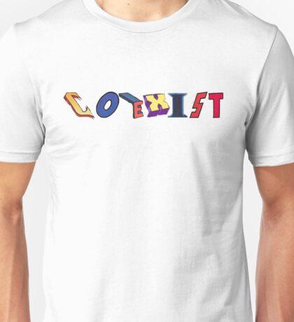 Coexist- DC Unisex T-Shirt