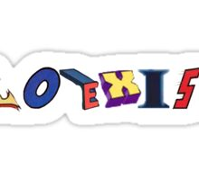 Coexist- DC Sticker