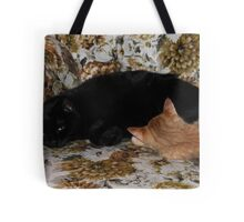 It's Midnight & Sunny  Tote Bag
