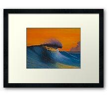 The Shining - Surf art painting Framed Print