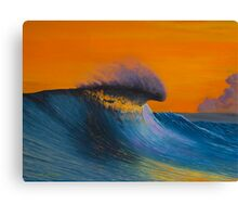 The Shining - Surf art painting Canvas Print
