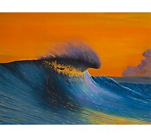 The Shining - Surf art painting Photographic Print