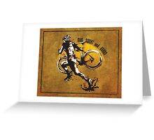 Mud Sweat & Gears Cyclocross  Greeting Card