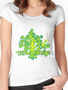 Think_Green Women's Fitted Scoop T-Shirt