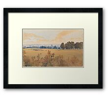 John Absolon  A Review in Hyde Park Framed Print
