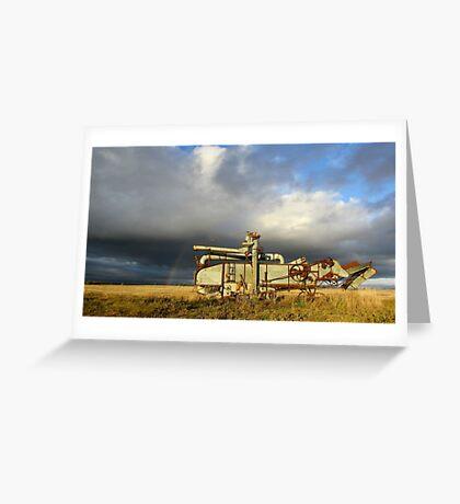 Prairie Past Greeting Card