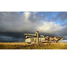 Prairie Past Photographic Print