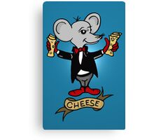 Gimme the Cheese Canvas Print