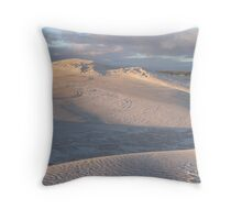 Sand Dunes, Lancelin WA Throw Pillow