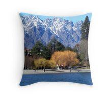 Queenstown NZ Throw Pillow
