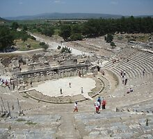 Ephesus Theatre by spidey169