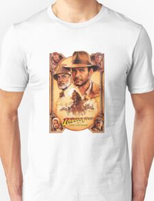 Indiana Jones and The Last Crusade Movie Poster T-Shirt