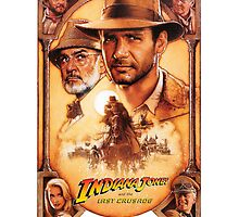 Indiana Jones and The Last Crusade Movie Poster by the2ndbest