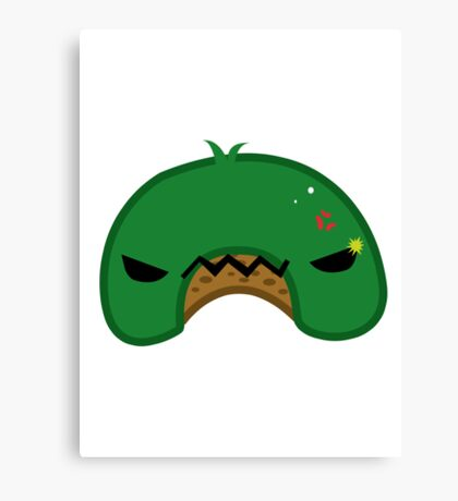 Angry Hill u-shaped hill appreciation society Canvas Print
